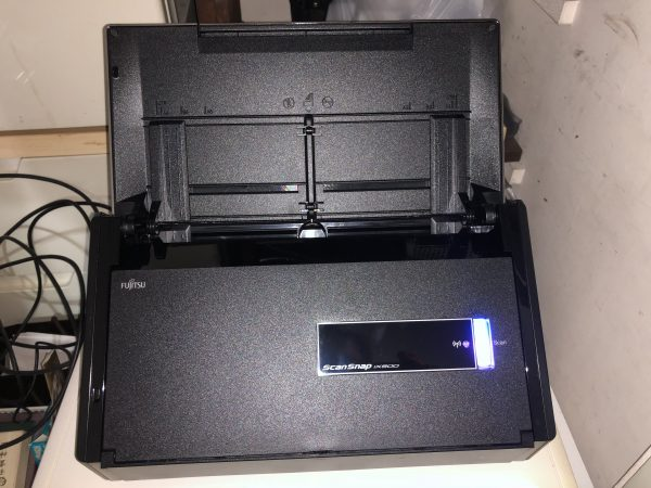 Scan Snap iX500 でIT活用・業務効率化